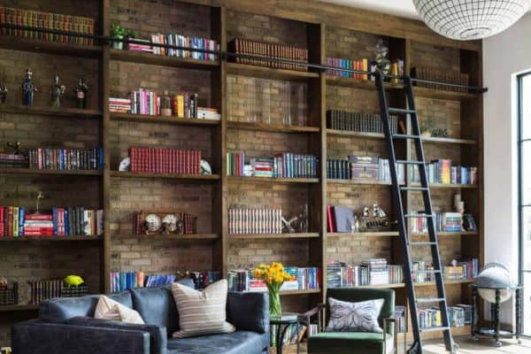featured posts image for Industrial eclectic home with a Harry Potter inspired-library in Colorado
