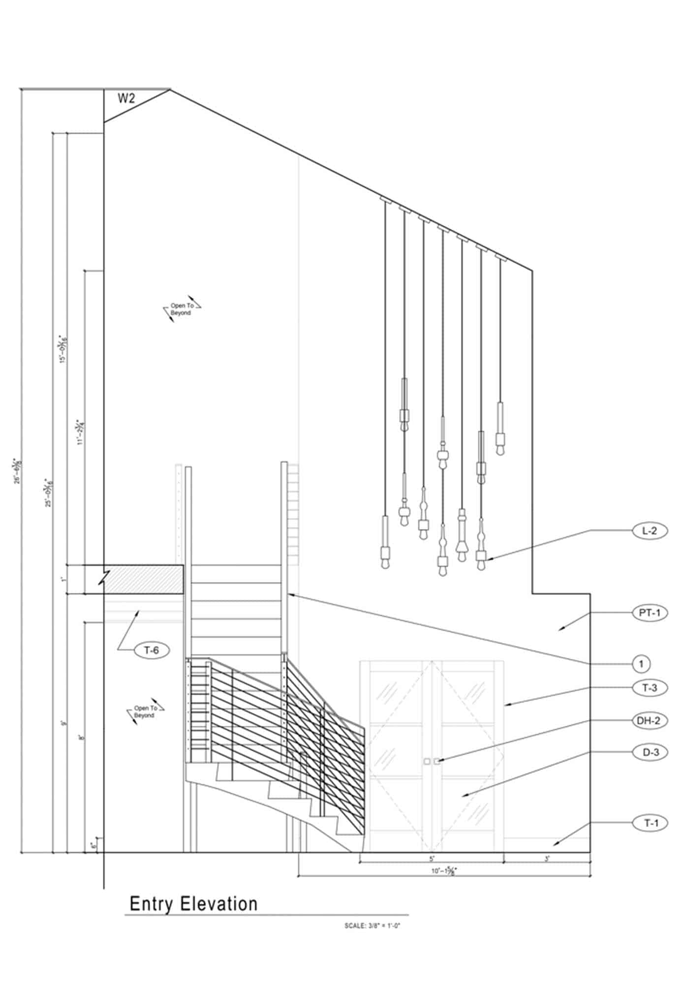 entry-elevation-plan