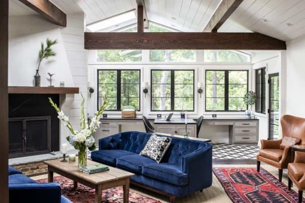 featured posts image for Georgian ranch home gets re-imagined with modern farmhouse touches