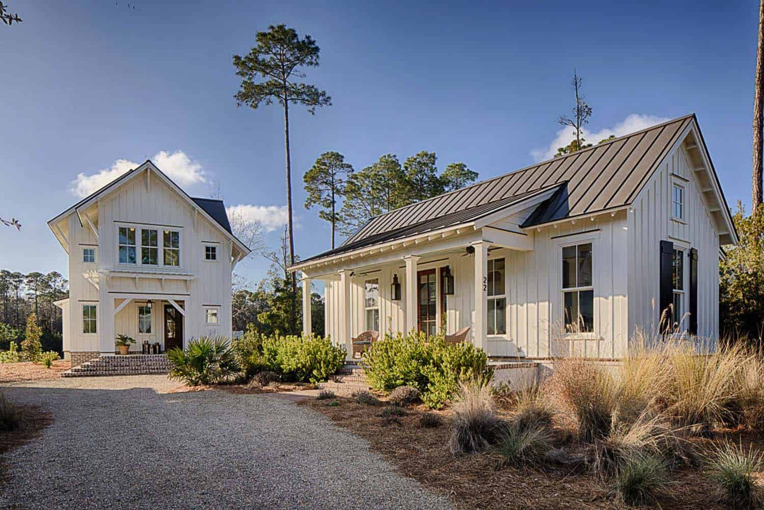 Inviting modern farmhouse cottage for family living in South Carolina