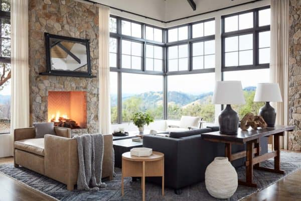 featured posts image for Tour this dreamy mountain home ranch in California's Napa Valley
