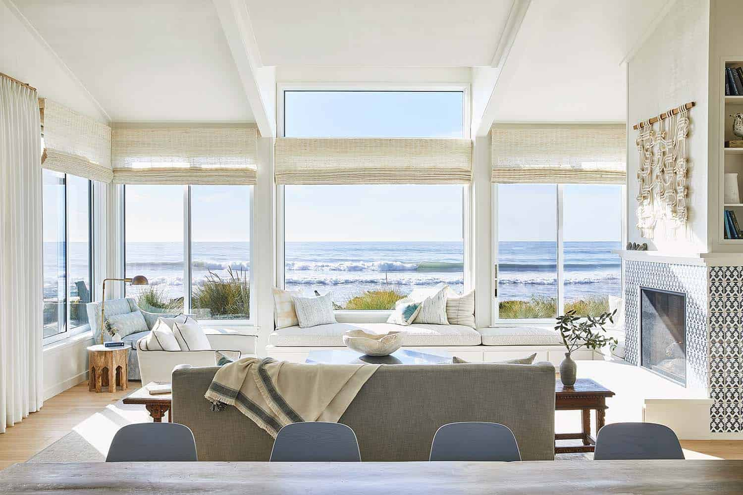 Relaxing seaside getaway in California with a Scandinavian vibe