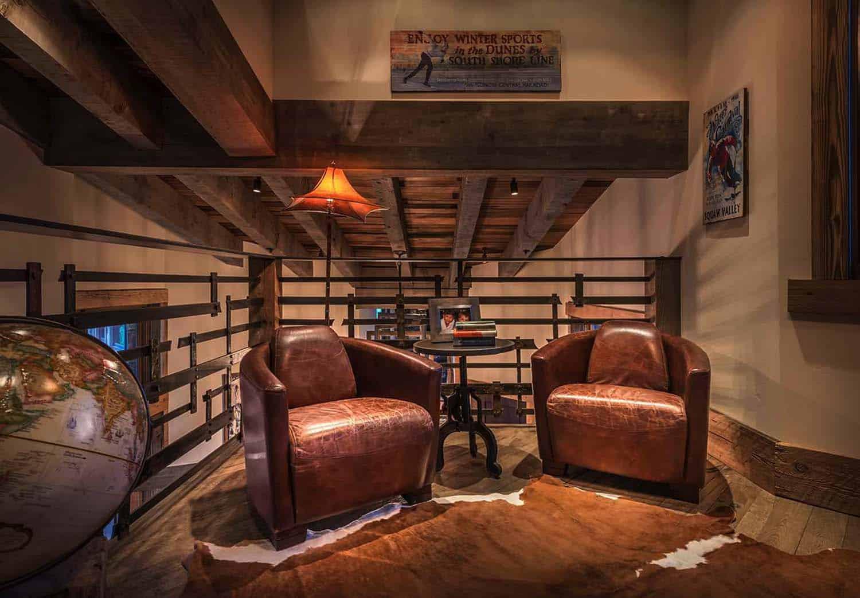 rustic-modern-loft-sitting-area