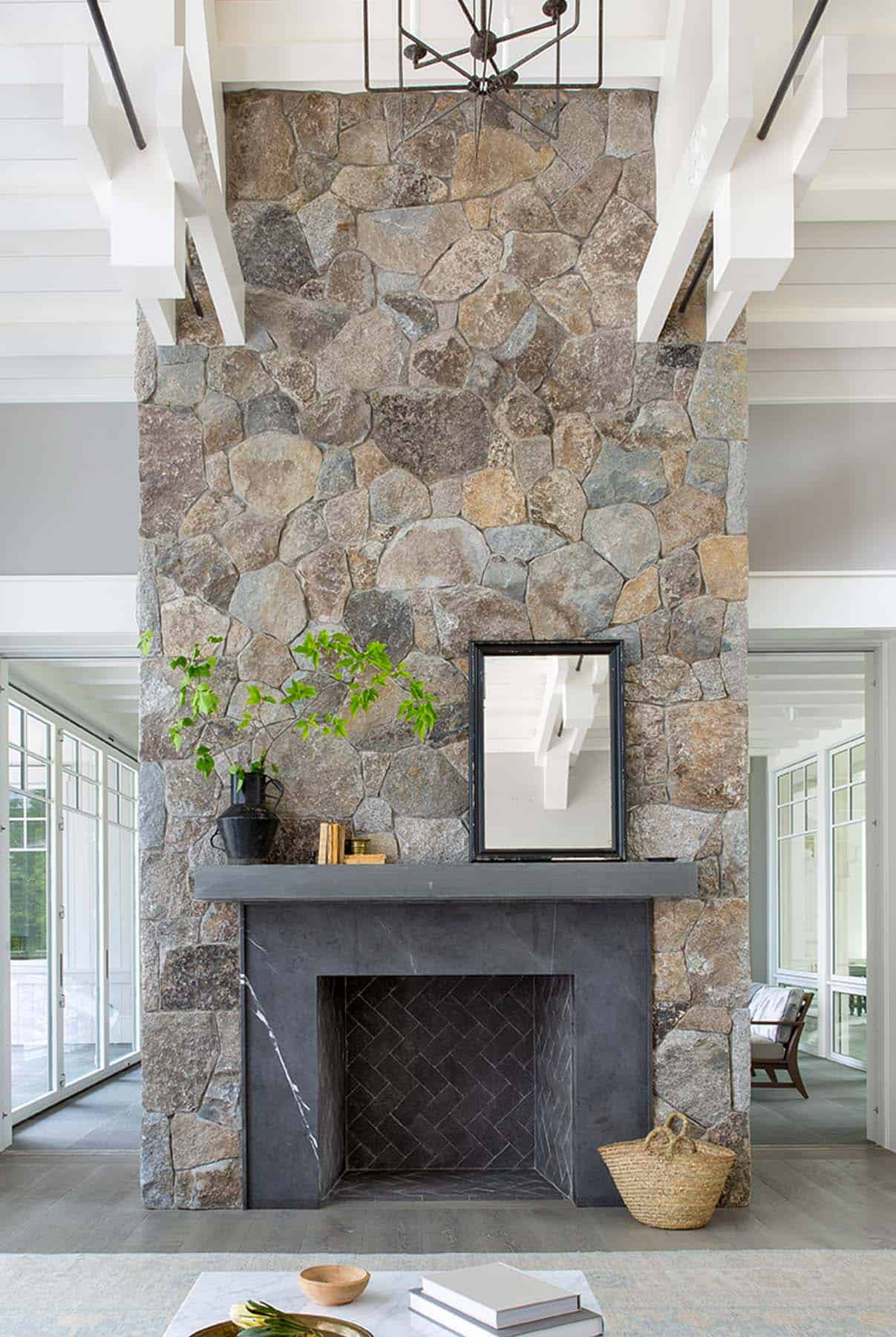 transitional-style-living-room-fireplace