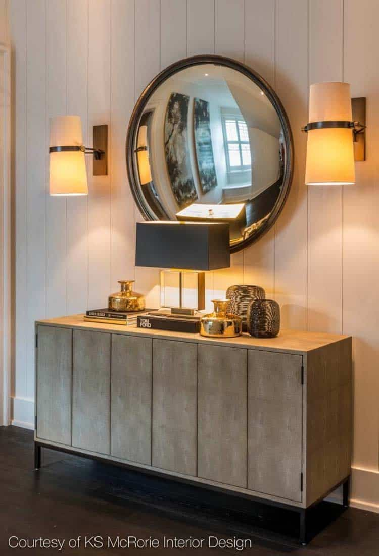 transitional-hallway-console-table