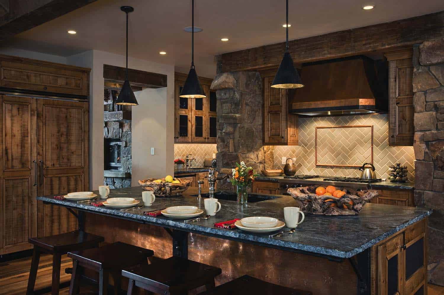 40 Unbelievable Rustic Kitchen Design Ideas To Steal