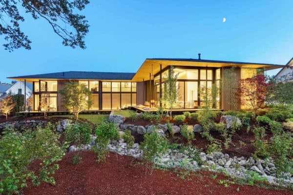 featured posts image for Asian contemporary home with glass walls in the Pacific Northwest