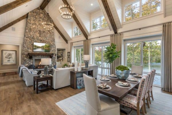 featured posts image for Tour this gorgeous model home perched over dreamy Lake Keowee