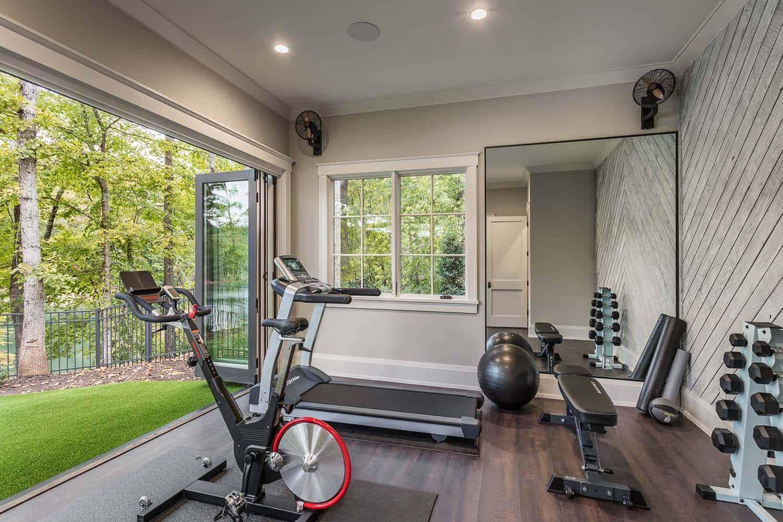 contemporary-model-home-gym