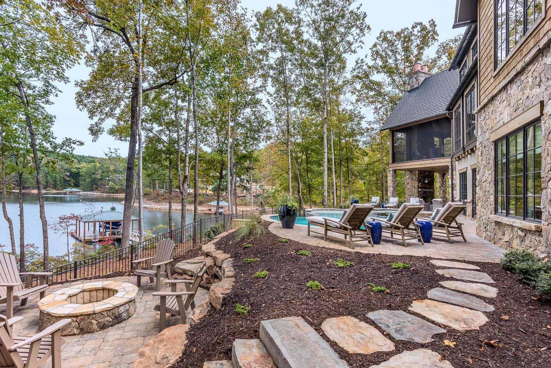 contemporary-model-home-landscape