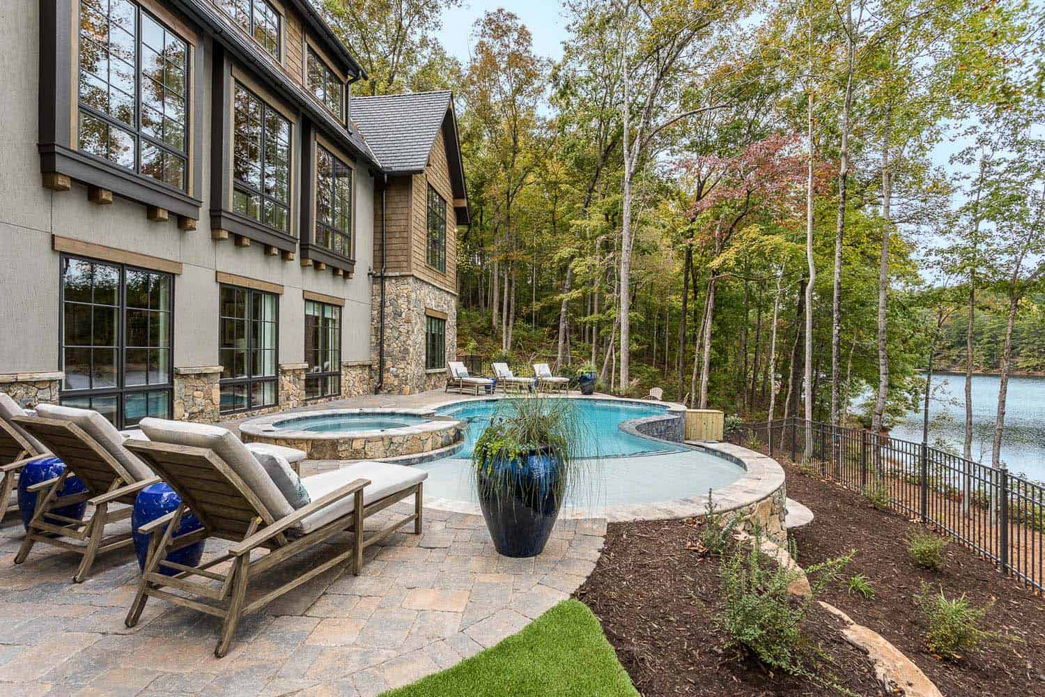 contemporary-model-home-pool