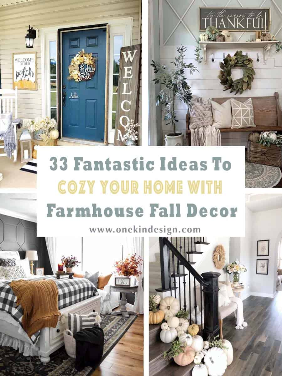 33 Fantastic Ideas To Cozy Your Home With Farmhouse Fall