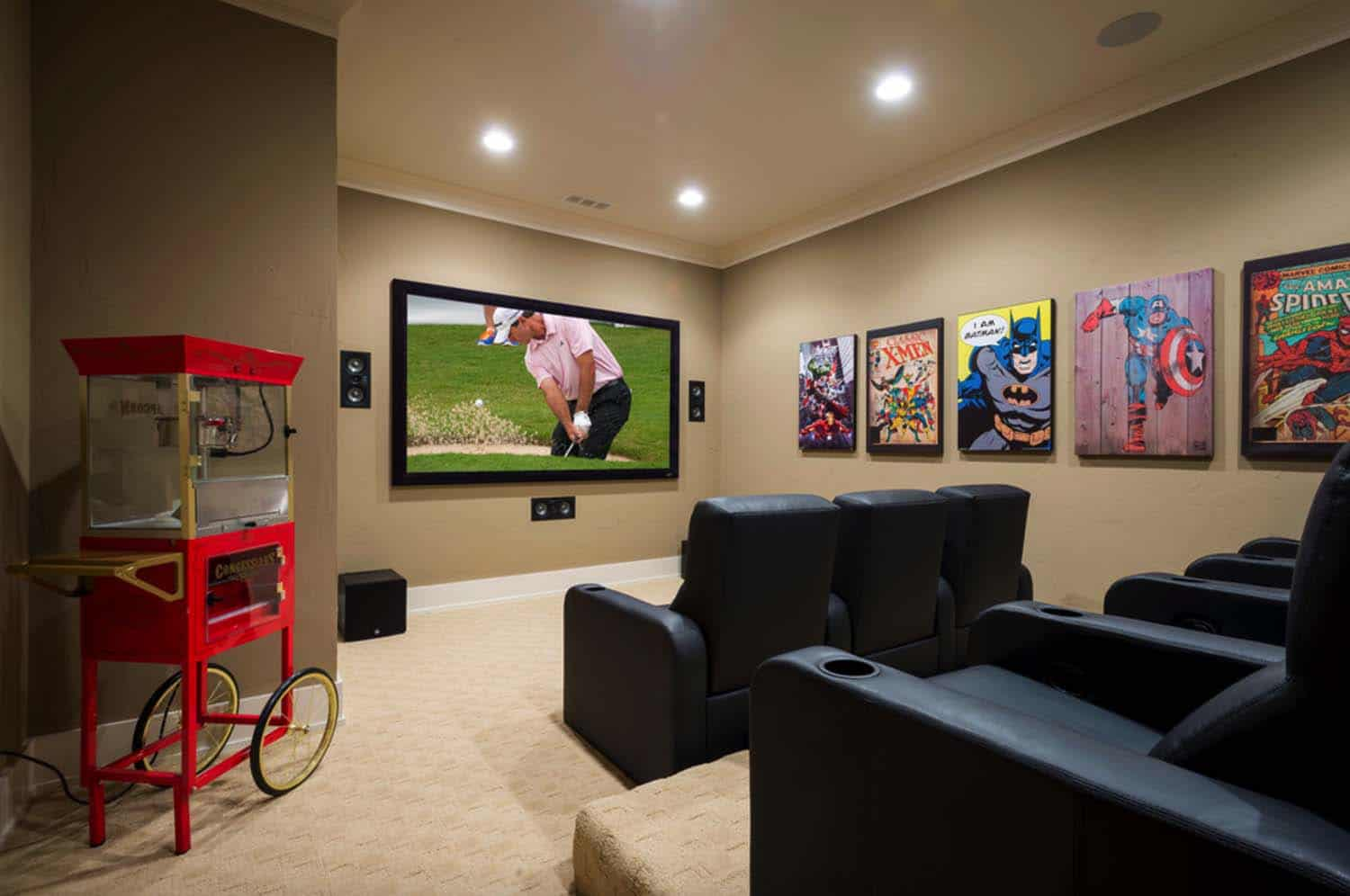craftsman-style-home-theater