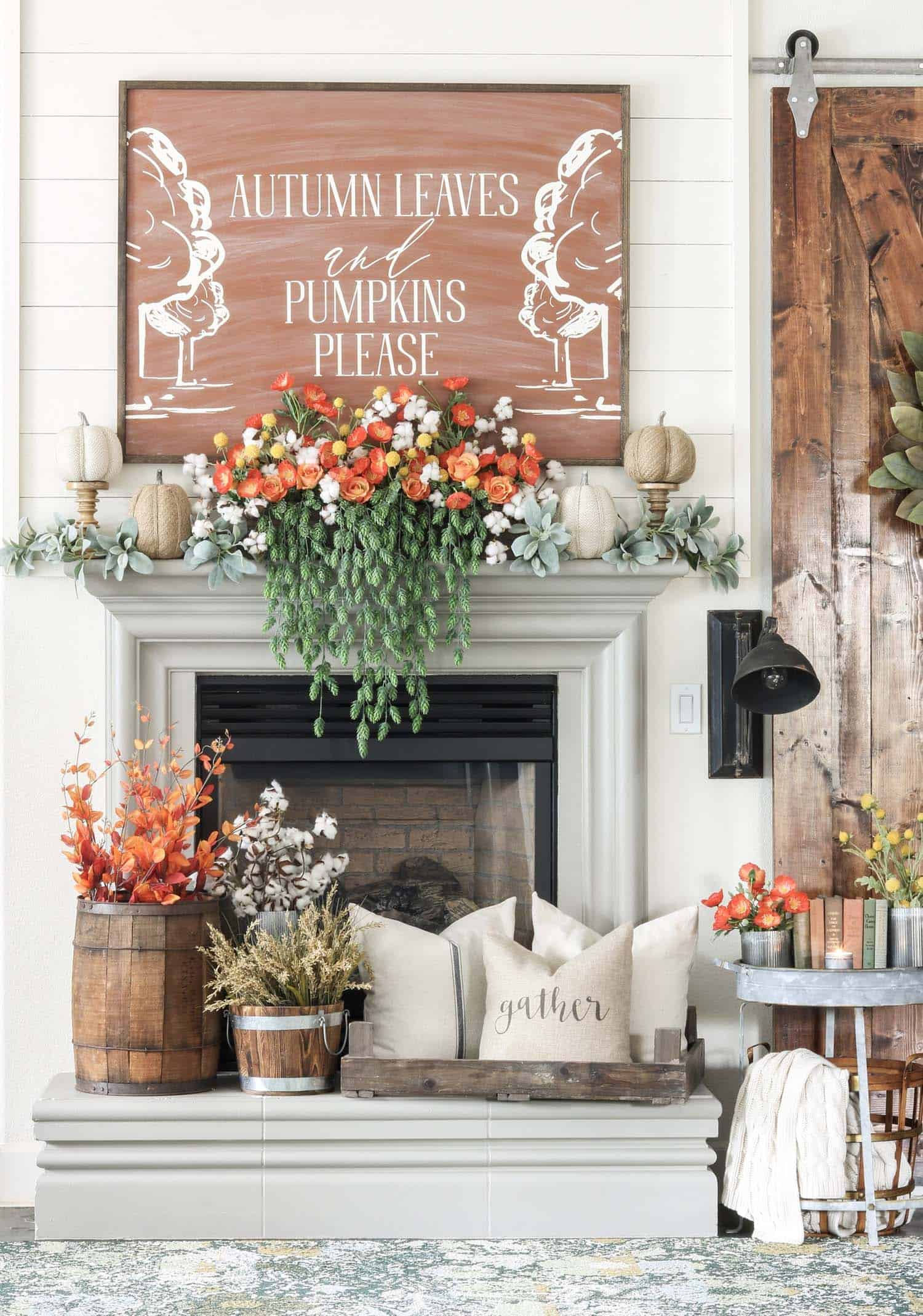 fall-mantel-decorating-ideas