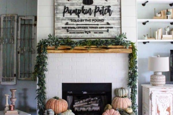 featured posts image for 20+ Unbelievably Inspiring Fall Mantel Decorating Ideas