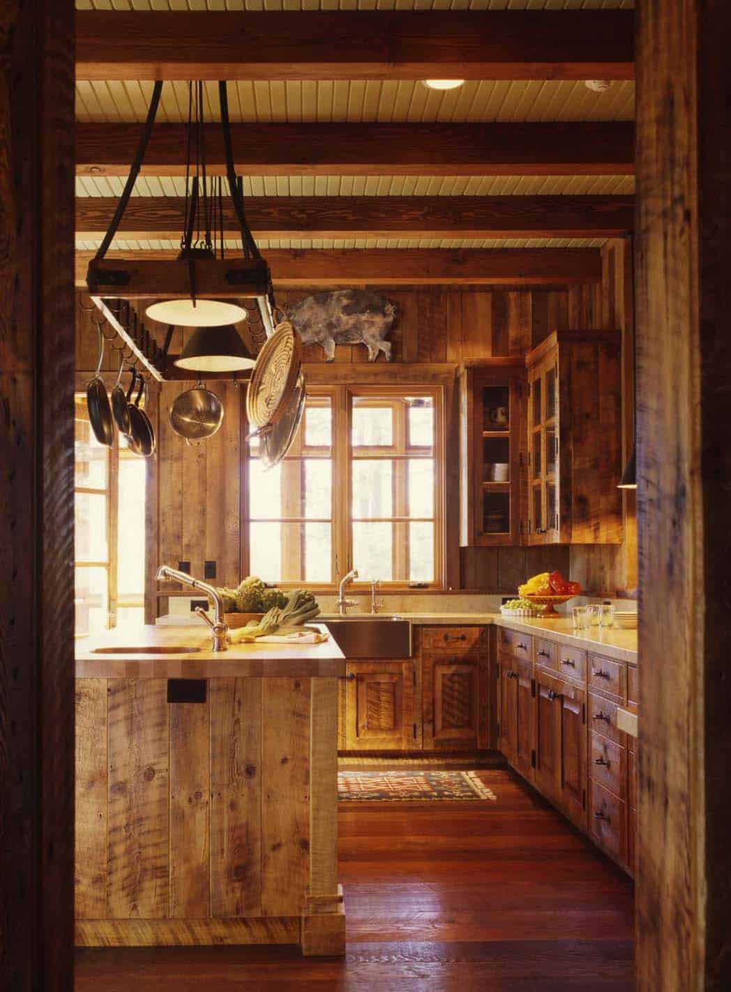 family-ranch-rustic-kitchen