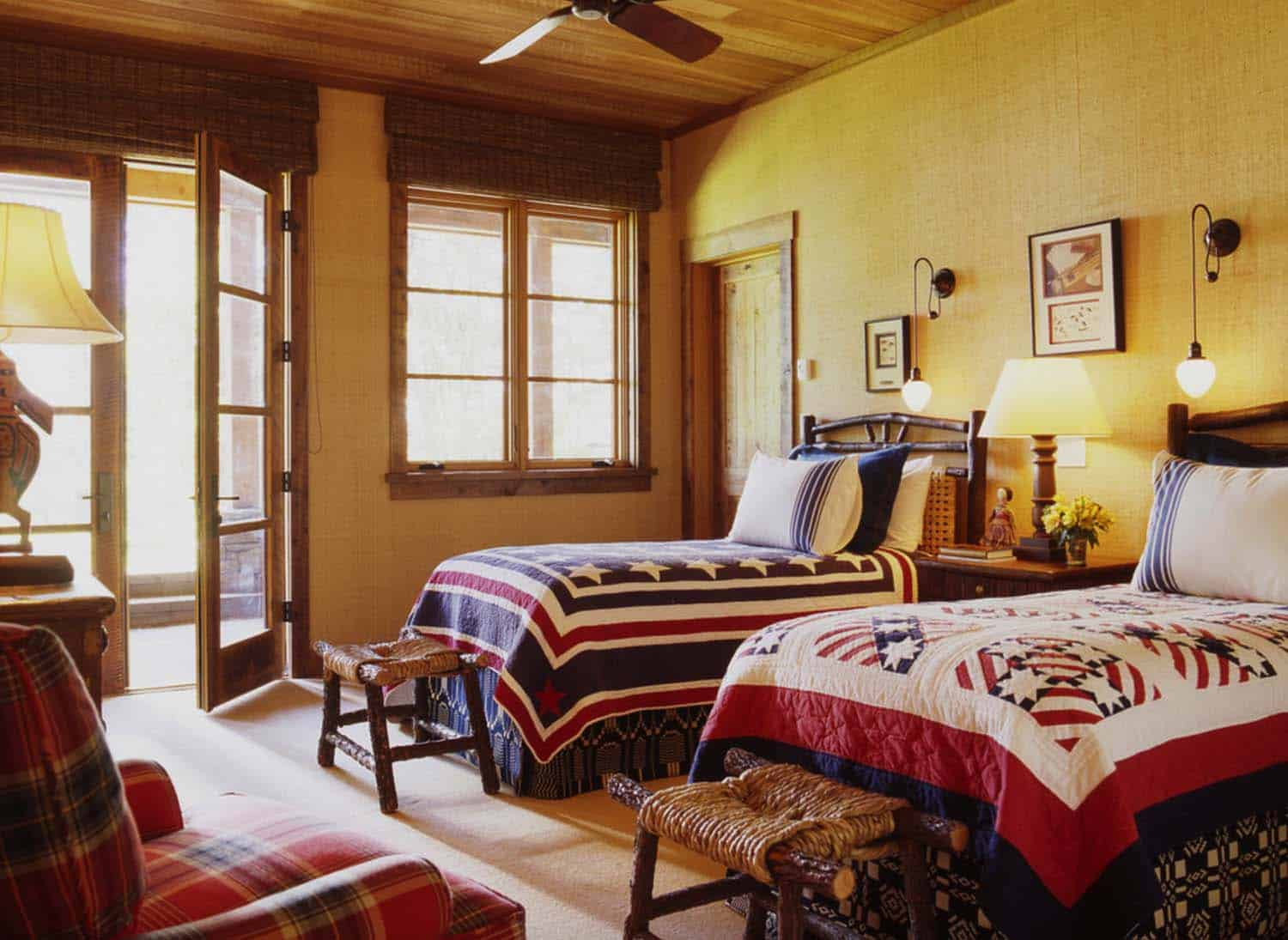 family-ranch-rustic-bedroom