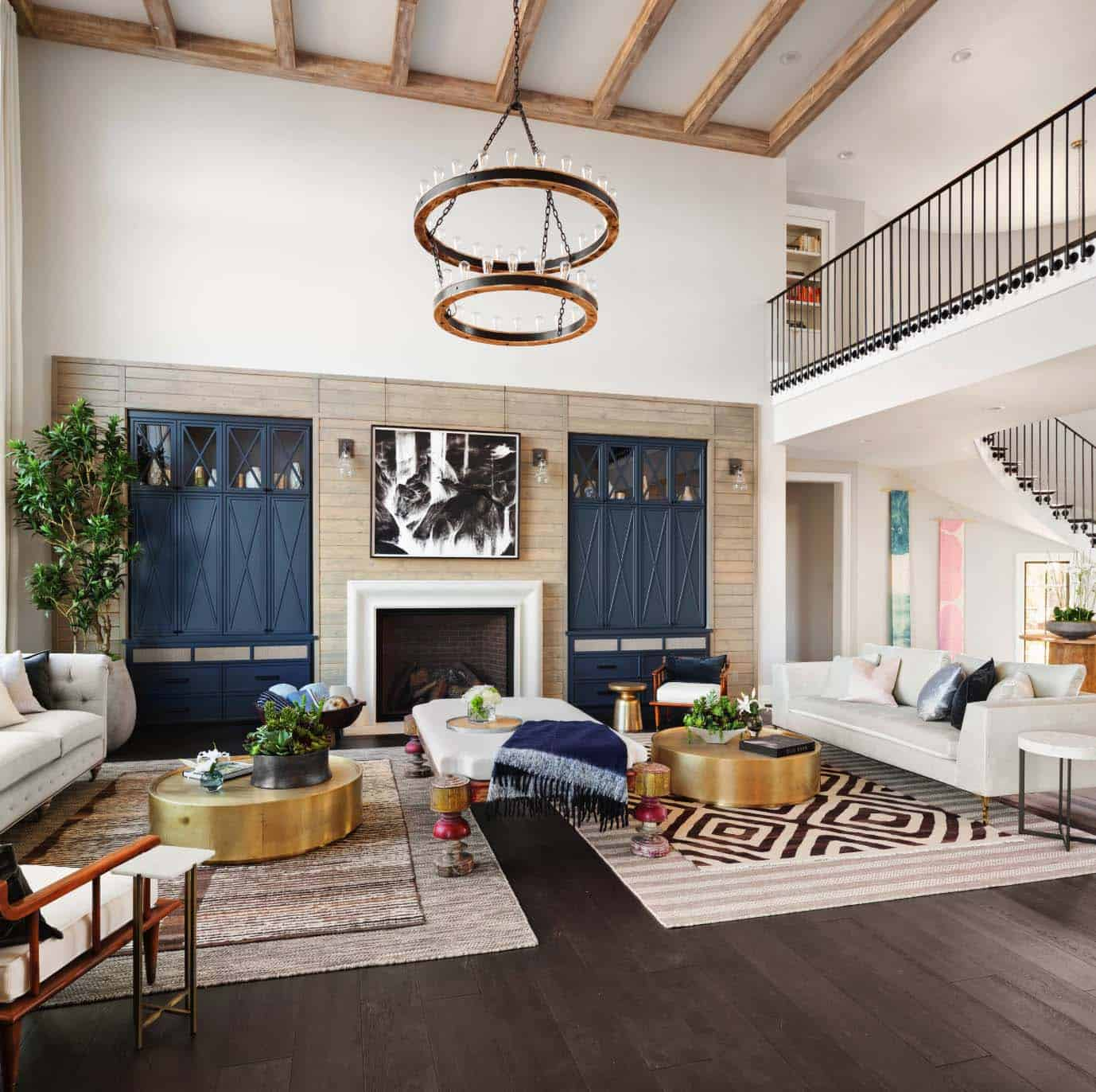 french-country-transitional-living-room