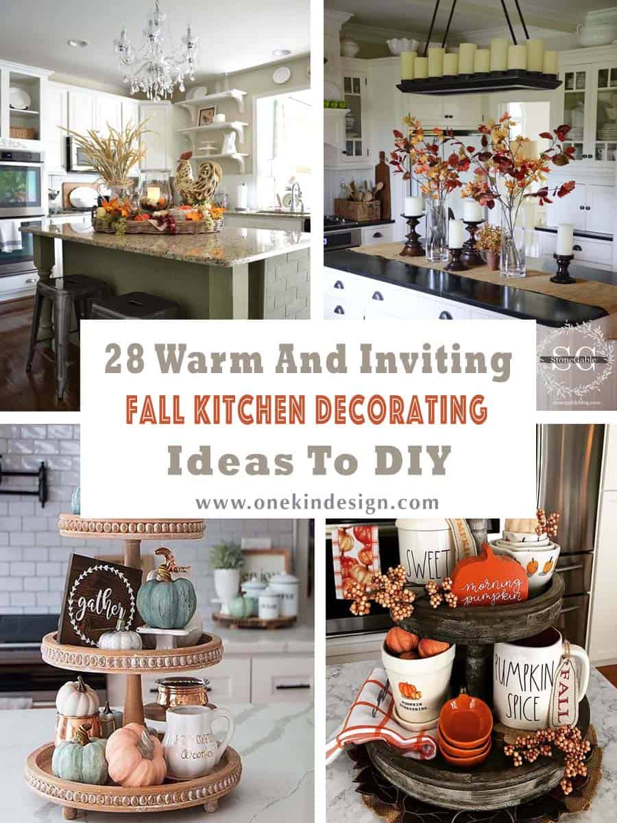 28 Warm And Inviting Fall Kitchen Decorating Ideas To DIY