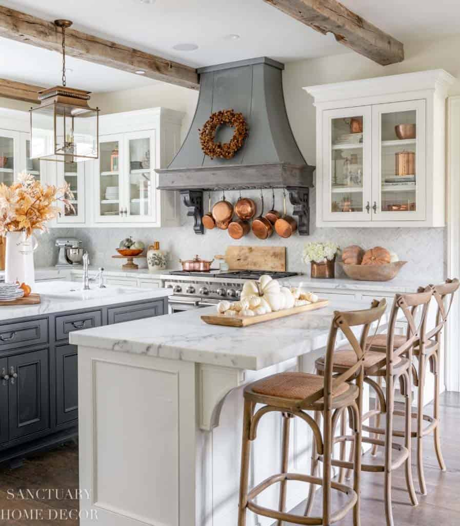 28 Small Kitchen Design Ideas: 28 Warm And Inviting Fall Kitchen Decorating Ideas To DIY