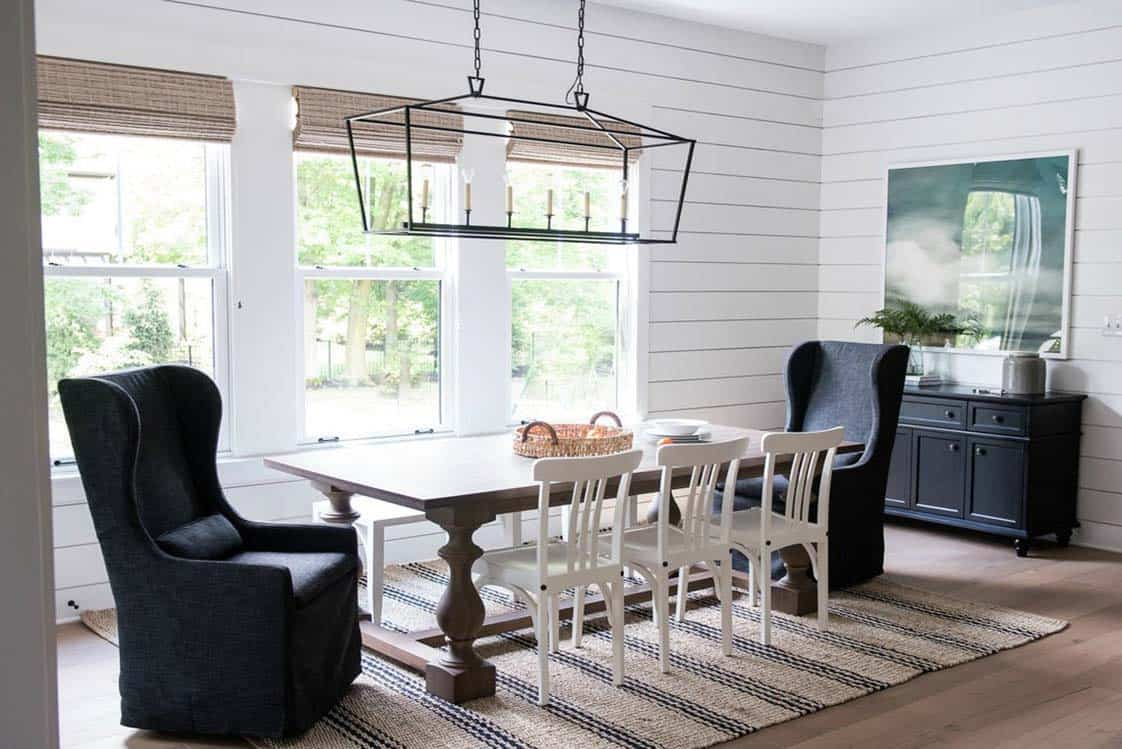 modern-craftsman-farmhouse-dining-room