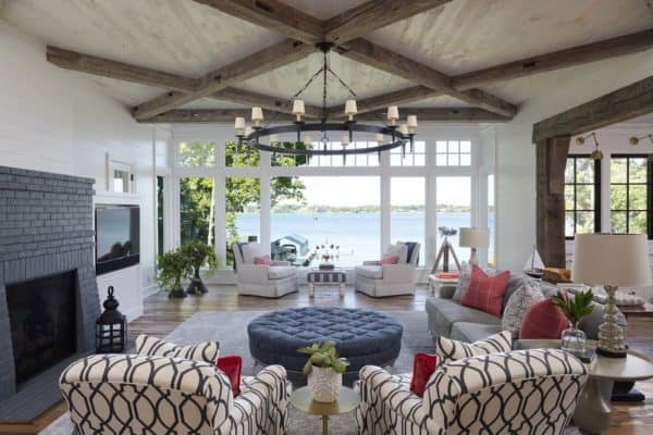 featured posts image for Stunning modern farmhouse with a coastal twist on Lake Minnetonka
