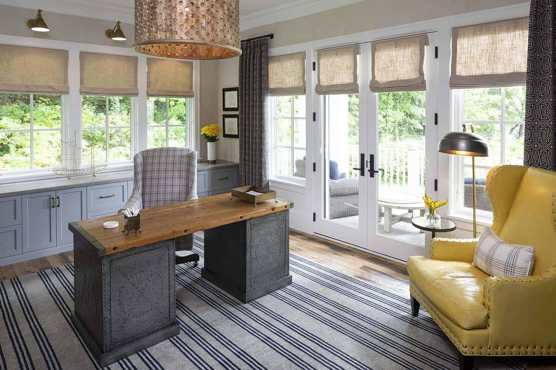 farmhouse-beach-style-home-office