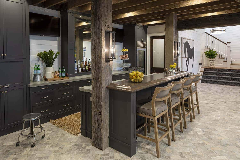 farmhouse-beach-style-home-bar