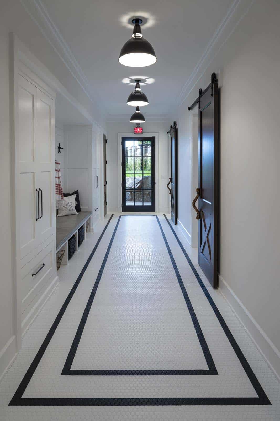 farmhouse-beach-style-hallway
