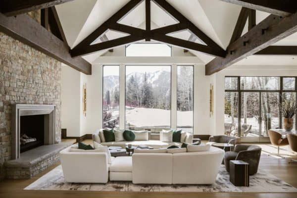 featured posts image for Modern mountain retreat in Aspen offers luxurious yet comfortable living