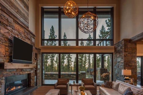 featured posts image for Brilliantly designed mountain modern cabin in California's High Sierra