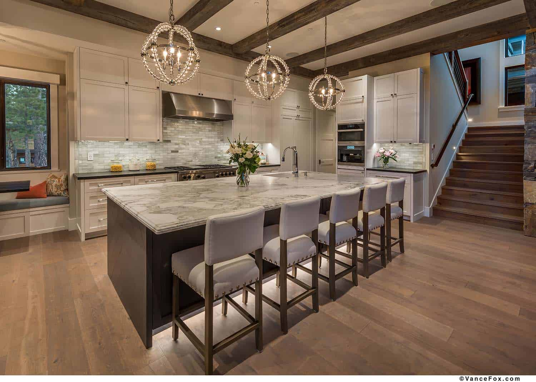 mountain-modern-cabin-kitchen