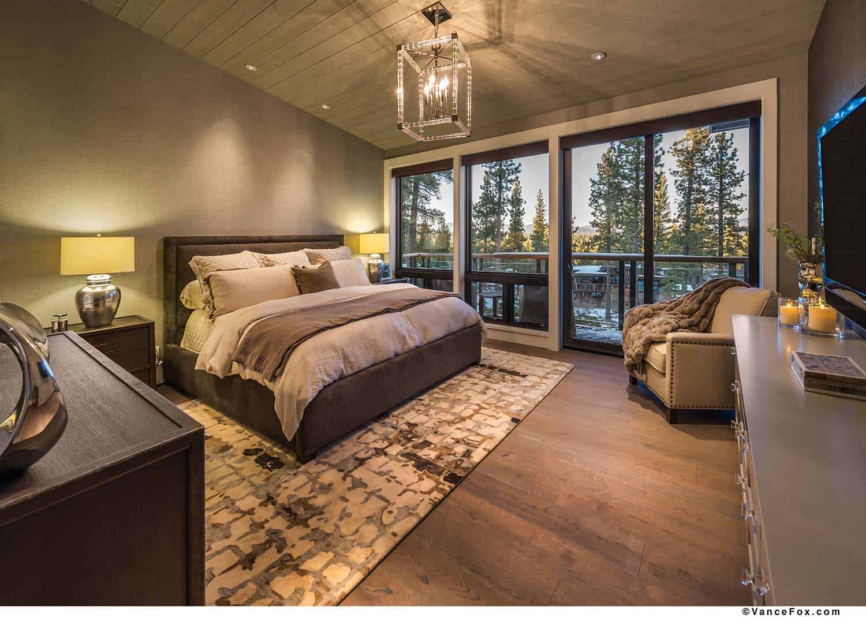 mountain-modern-cabin-bedroom