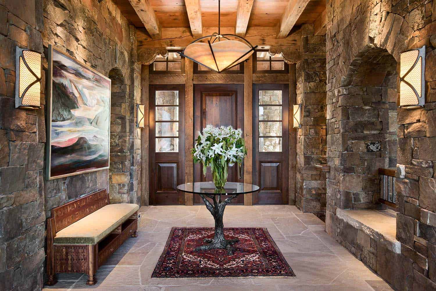 rustic-mountain-home-entry