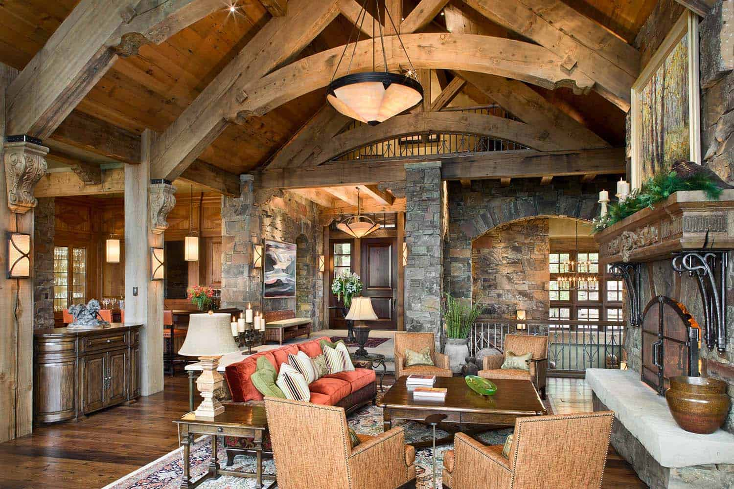 rustic-mountain-home-living-room