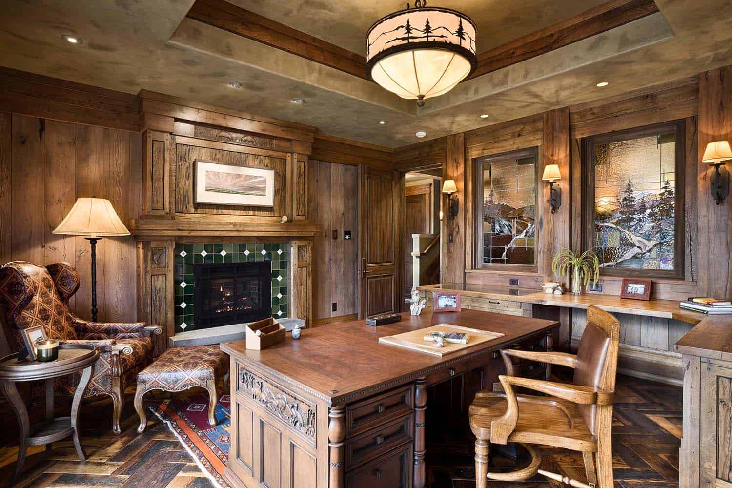 residence-rustic-home-office
