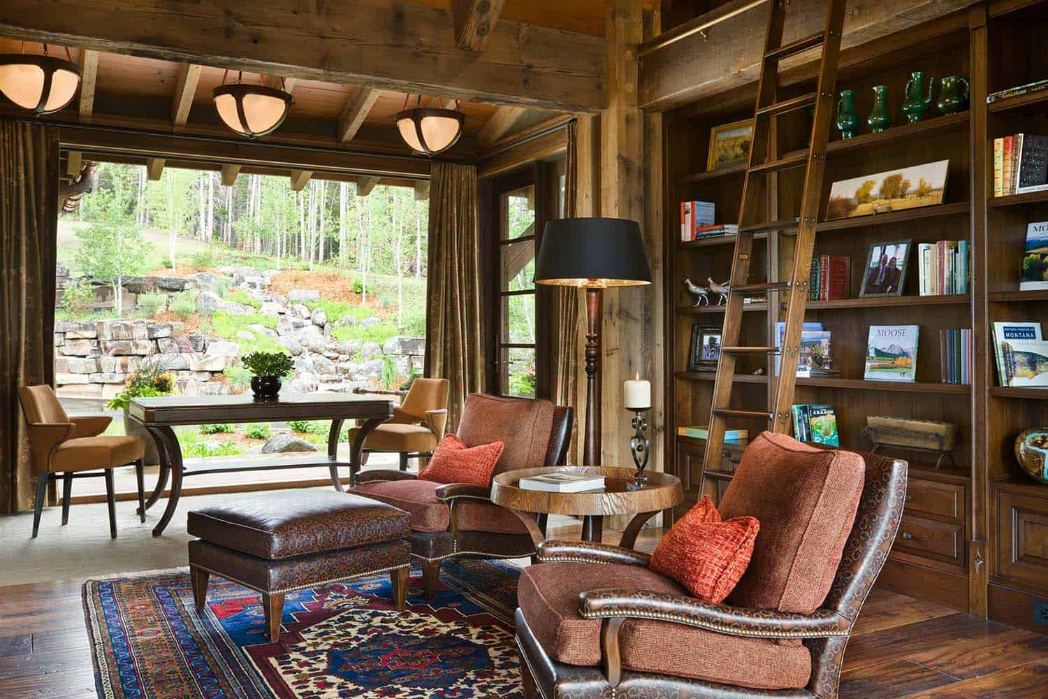 residence-rustic-home-library