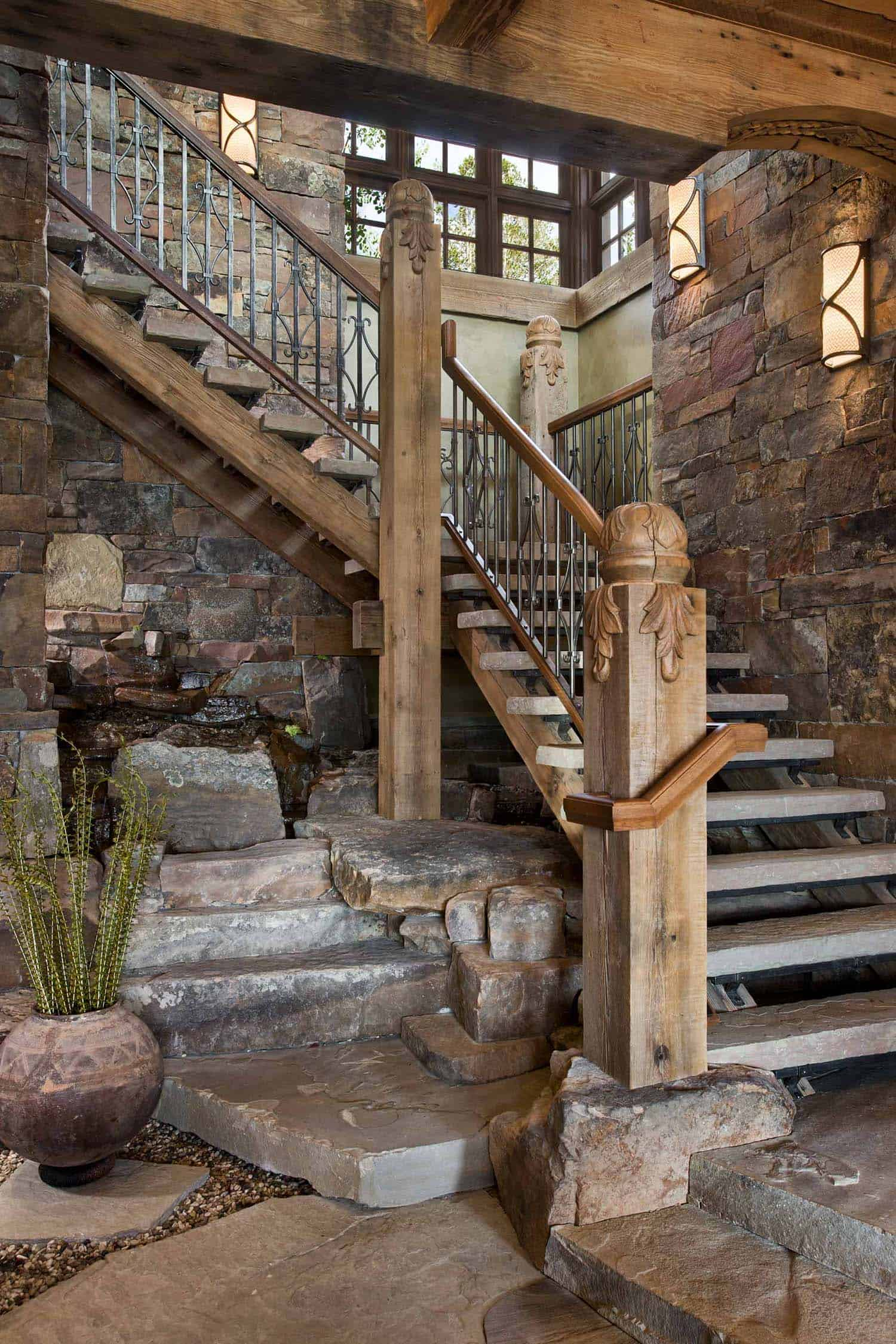 residence-rustic-staircase