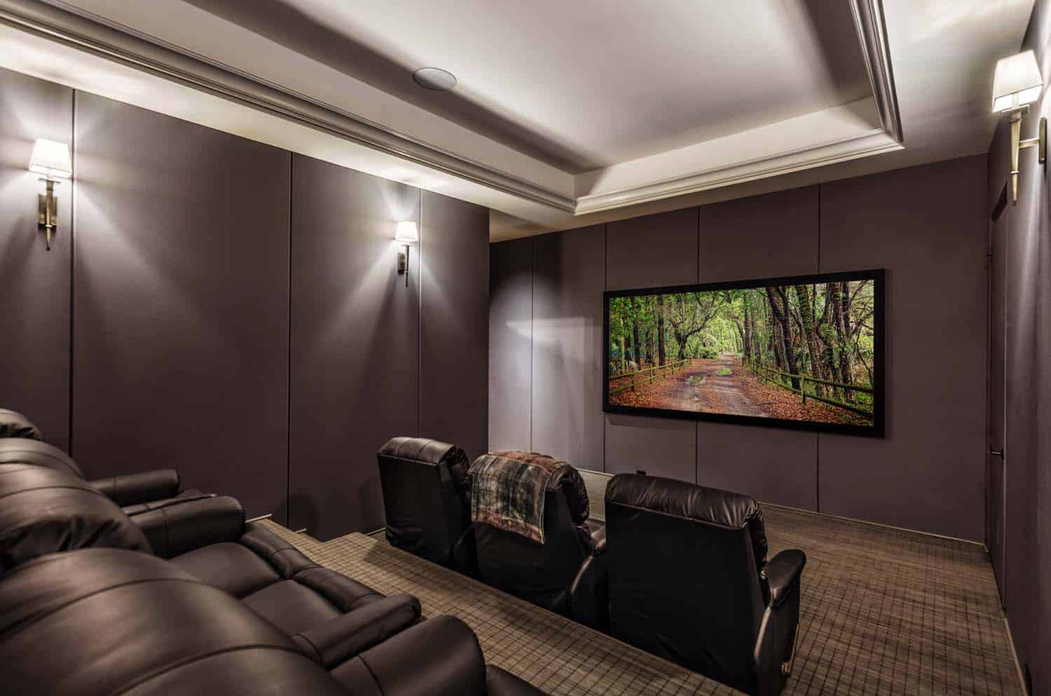 traditional-style-home-theater