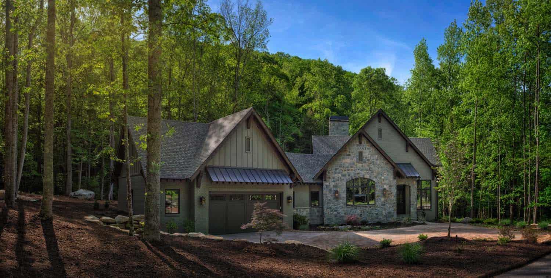 transitional-mountain-home-modern-exterior