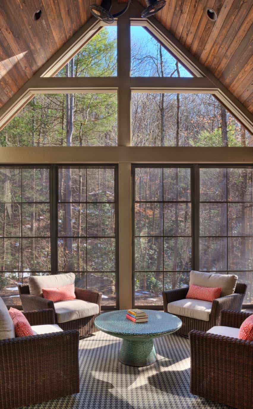 transitional-mountain-home-contemporary-sunroom