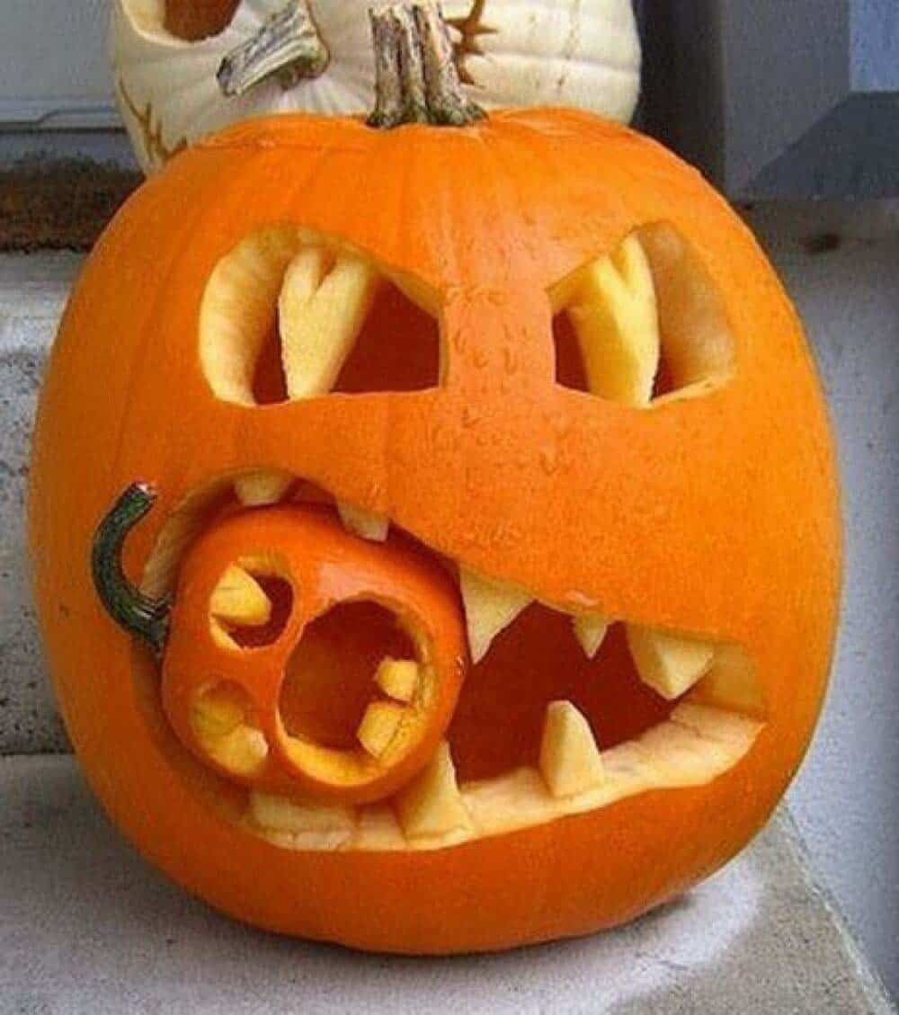 27 Unbelievably Clever Pumpkin Carving Ideas For Halloween