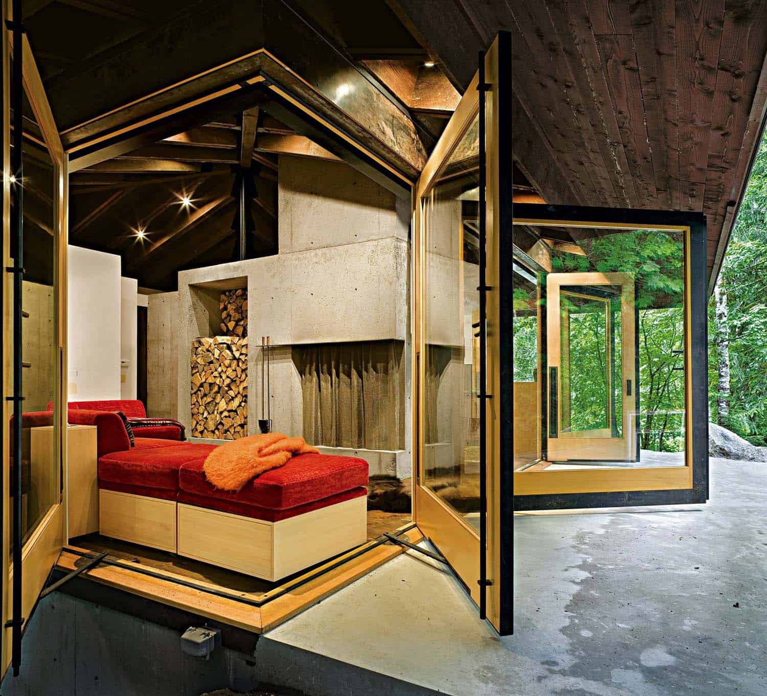 compact-modern-cabin-living-room