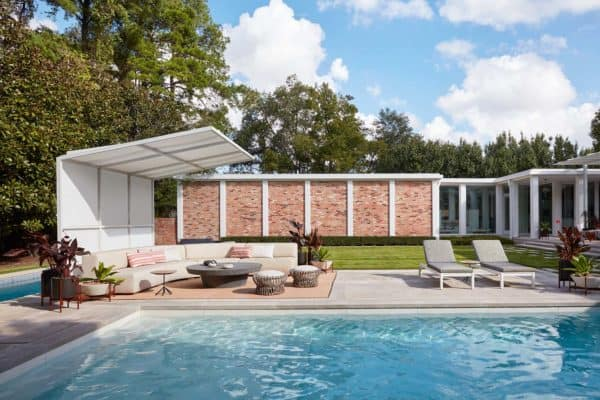 featured posts image for Midcentury modern home in Houston gets an inspiring makeover