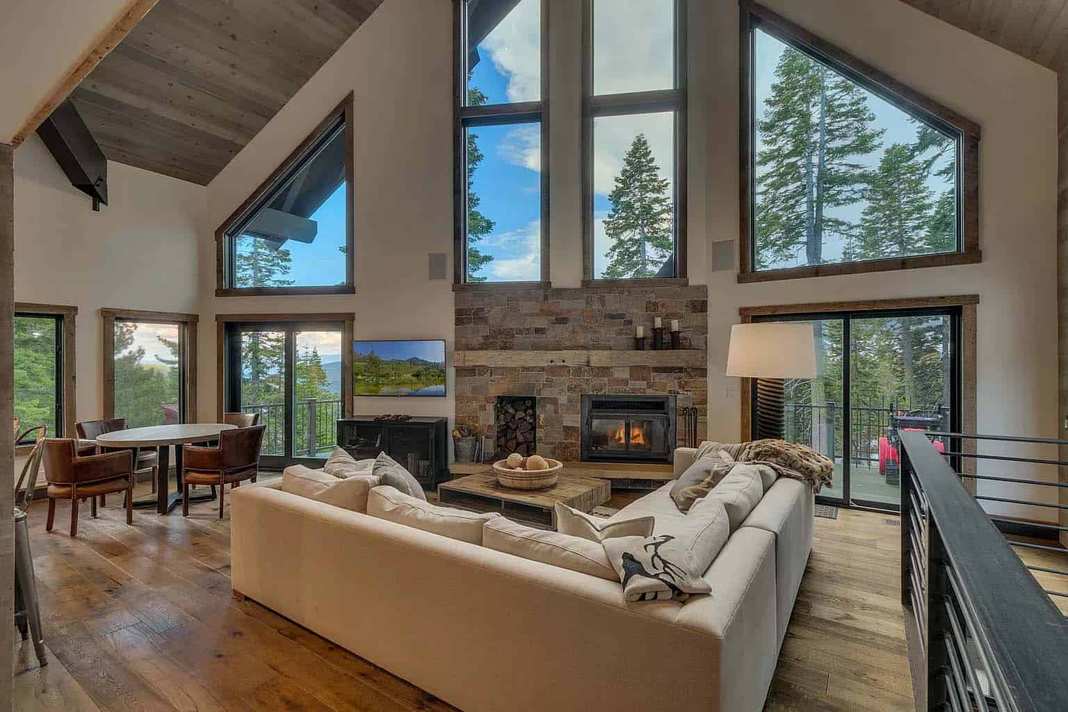 Dreamy mountain chalet nestled in the pristine beauty of ...
