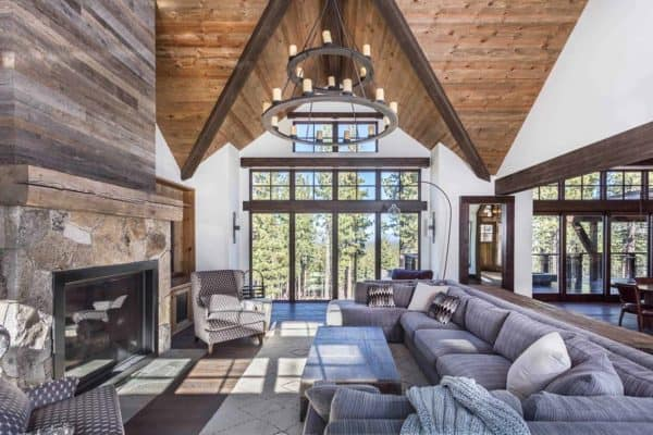 featured posts image for Rustic-modern ski retreat in the Sierras boasts jaw-dropping details