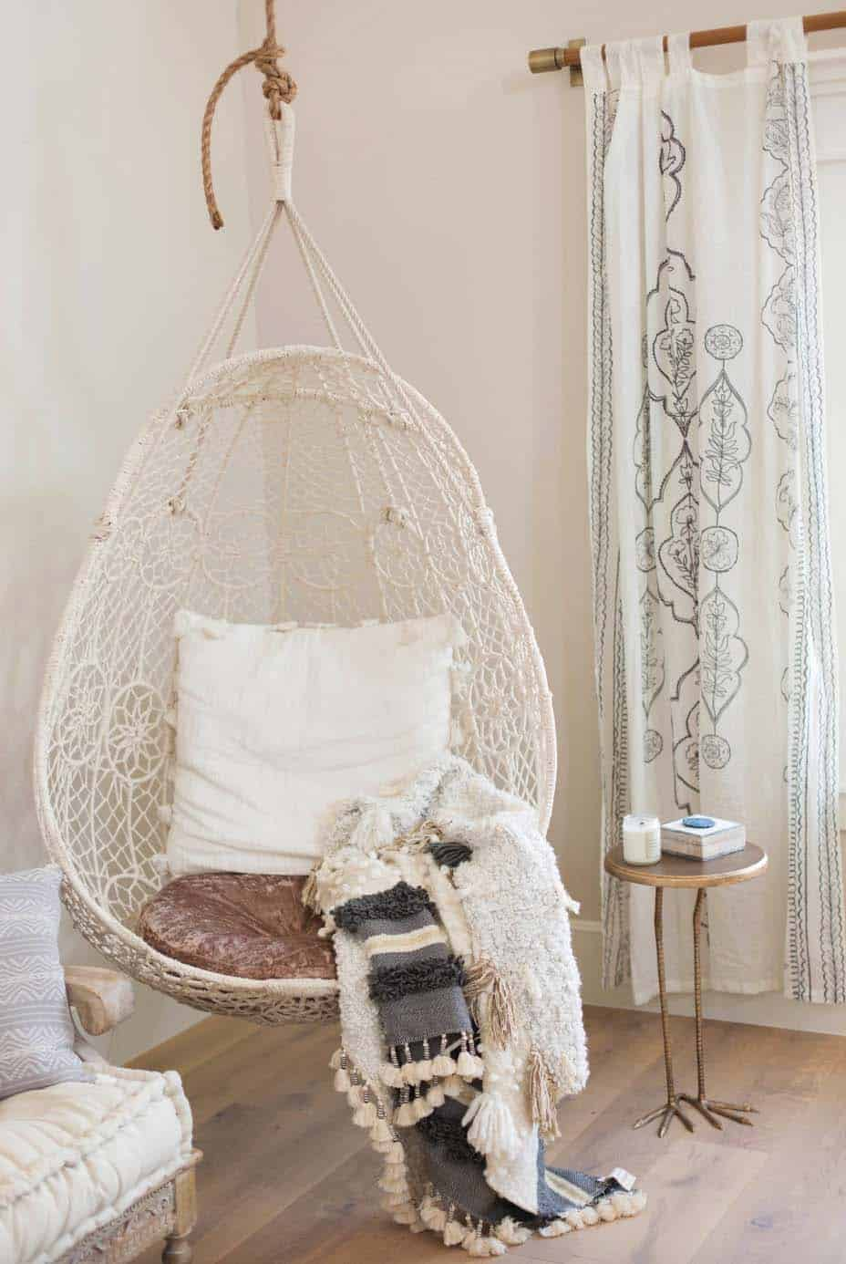 rustic-contemporary-kids-home-office-craft-room-hanging-chair