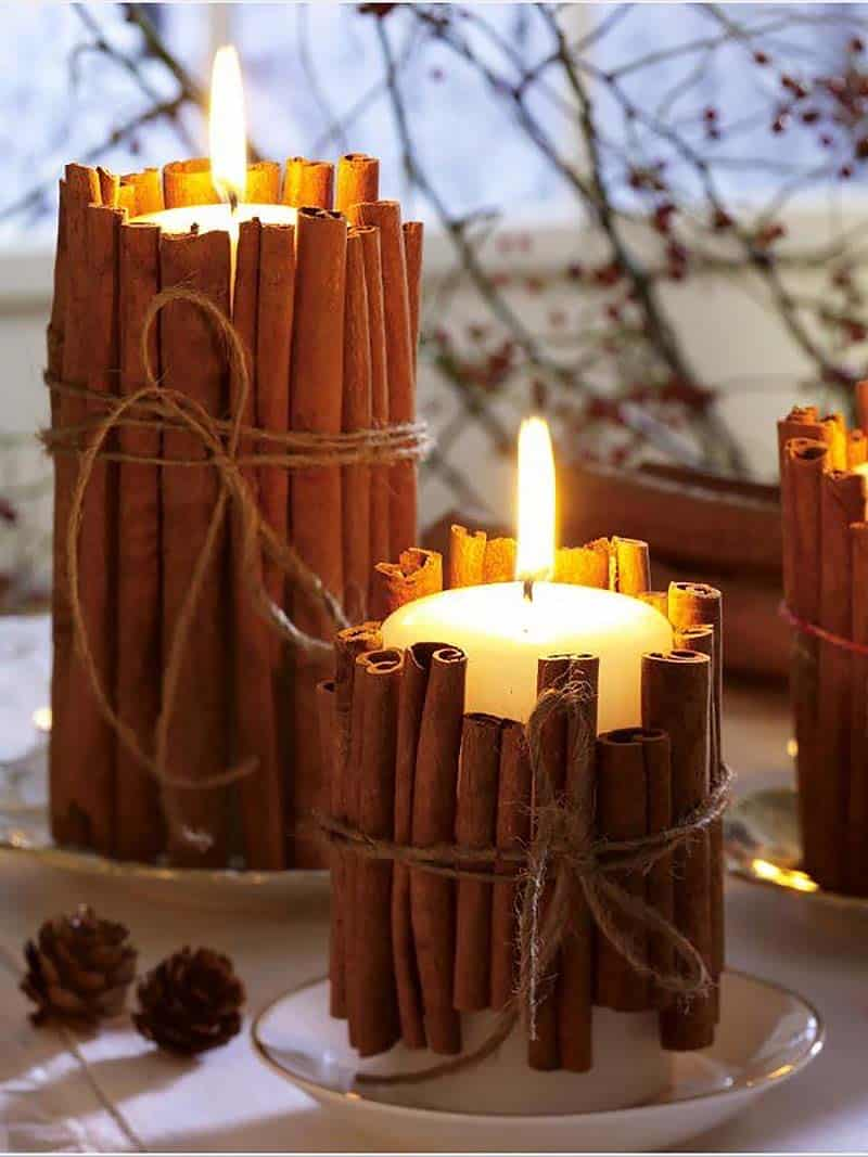thanksgiving-decor-ideas-cinnamon-stick-candles