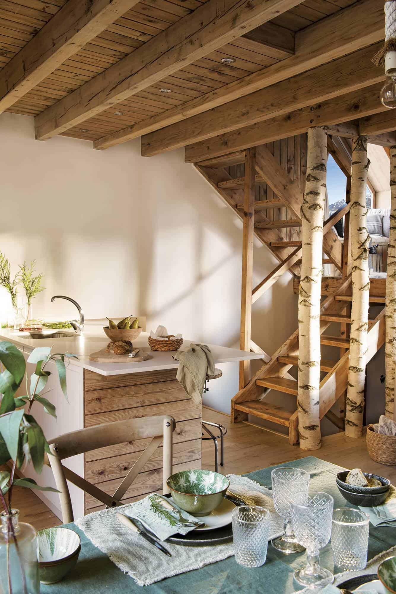 mountain-cabin-kitchen