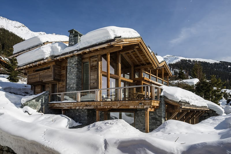 Fabulous ski chalet offers an idyllic getaway in the Swiss Alps